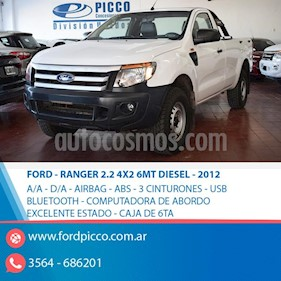 Foto venta Auto usado Ford Ranger XL 2.2L 4x2 TDi CS  (2012) color Blanco