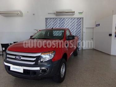 Foto venta Auto usado Ford Ranger XL 2.5L 4x2 CS (2013) color Rojo Bari precio $375.000