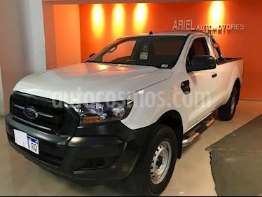 Foto venta Auto usado Ford Ranger XL 2.5L 4x2 CS   (2017) color Blanco precio $640.000