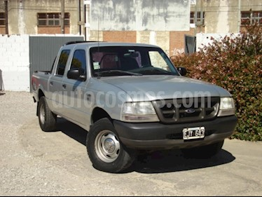 Foto venta Auto usado Ford Ranger XL 2.8L 4x4 TDi CS (2004) color Gris Claro precio $185.000