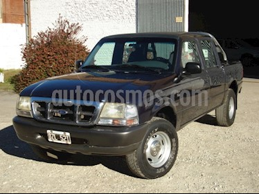 Foto venta Auto usado Ford Ranger XL 2.8L 4x4 TDi CS (2002) color Azul precio $190.000