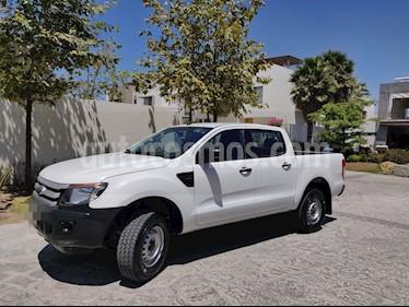 Ford Ranger XL Cabina Doble Ac usado (2015) color Blanco precio $255,000