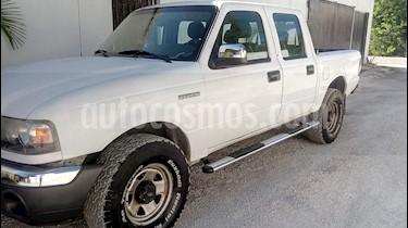 Ford Ranger XL Cabina Doble Ac usado (2008) color Blanco precio $128,000