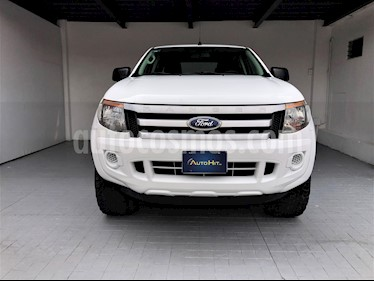Foto venta Auto usado Ford Ranger XL Cabina Doble (2013) color Blanco precio $234,000