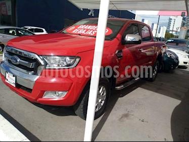 Foto venta Auto Seminuevo Ford Ranger XL Cabina Doble  (2017) color Rojo precio $419,000