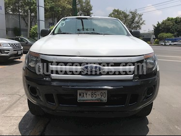 Foto venta Auto usado Ford Ranger XL Cabina Doble (2015) color Blanco precio $199,000