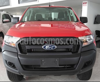 Ford Ranger XL Gasolina Cabina Doble 4x4 nuevo color Rojo precio $422,700