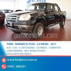 Foto Ford Ranger XL Plus 3.0L 4x4 TDi CS usado (2011) color Negro