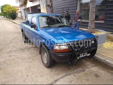 Foto venta Auto usado Ford Ranger XLT 2.8L 4x4 TDi CD (1998) color Azul Celeste precio $230.000