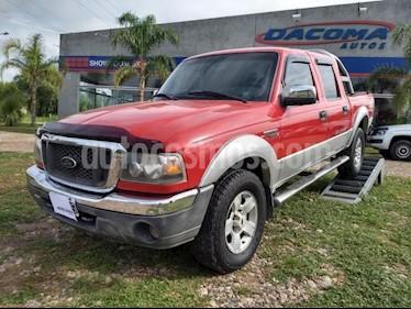 foto Ford Ranger XLT 3.0L 4x4 TDi CD usado (2005) color Rojo precio $11