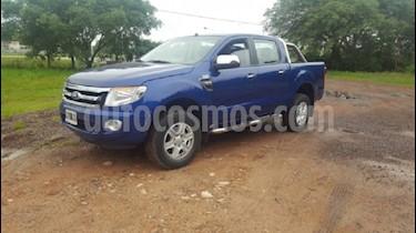 Foto venta Auto usado Ford Ranger XLT 3.2L 4x2 TDi CD (2015) color Azul Monaco precio $728.000