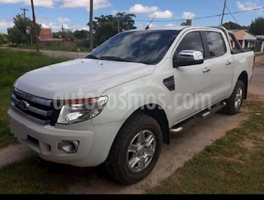 Ford Ranger XLT 3.2L 4x2 TDi CD  usado (2014) color Blanco Oxford precio $938.000