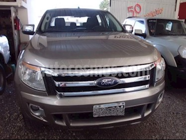 Foto venta Auto usado Ford Ranger XLT 3.2L 4x2 TDi CD (2014) color Beige precio $915.000