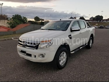Foto Ford Ranger XLT 3.2L 4x2 TDi CD usado (2015) color Blanco precio $1.150.000