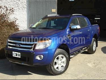 Foto venta Auto usado Ford Ranger XLT 3.2L 4x2 TDi CD (2015) color Azul precio $650.000