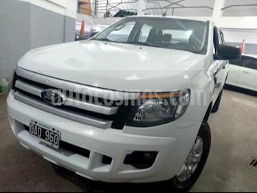 Foto venta Auto usado Ford Ranger XLT 3.2L 4x2 TDi CD (2014) color Blanco precio $660.000