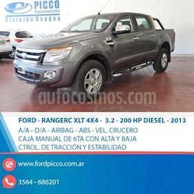 Foto venta Auto usado Ford Ranger XLT 3.2L 4x2 TDi CD (2013) color Gris Oscuro precio $890.000