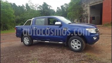 Foto venta Auto usado Ford Ranger XLT 3.2L 4x2 TDi CD (2015) color Azul Monaco
