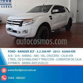 Foto venta Auto usado Ford Ranger XLT 3.2L 4x4 TDi CD 2015/2016 (2013) color Blanco precio $785.000
