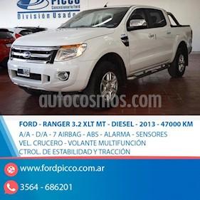 Foto venta Auto usado Ford Ranger XLT 3.2L 4x4 TDi CD 2015/2016 (2013) color Blanco
