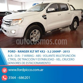 Foto Ford Ranger XLT 3.2L 4x4 TDi CD 2015/2016 usado (2013) color Blanco