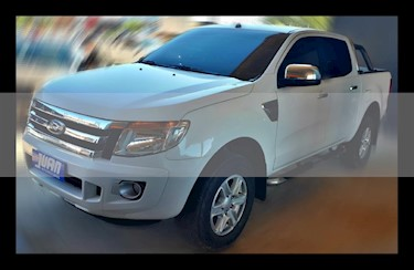 Foto venta Auto usado Ford Ranger XLT 3.2L 4x4 TDi CD 2015/2016 (2012) color Blanco precio $720.000