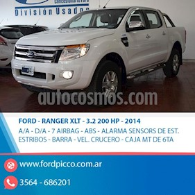 Foto venta Auto usado Ford Ranger XLT 3.2L 4x4 TDi CD 2015/2016 (2014) color Blanco