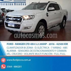 Foto venta Auto usado Ford Ranger XLT 3.2L 4x4 TDi CD Aut 2015/2016 (2016) color Blanco precio $1.285.000