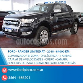 Ford Ranger XLT 3.2L 4x4 TDi CD Aut 2015/2016 usado (2018) color Negro