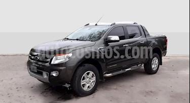 Foto venta Auto usado Ford Ranger XLT 3.2L 4x4 TDi CD Aut (2013) color Gris Oscuro precio $850.000