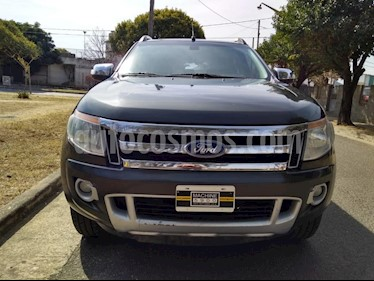 Foto venta Auto usado Ford Ranger XLT 3.2L 4x4 TDi CD Aut (2013) color Gris Oscuro precio $890.000