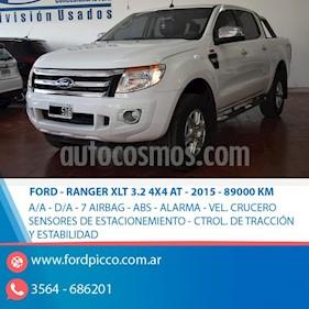 Foto venta Auto usado Ford Ranger XLT 3.2L 4x4 TDi CD Aut (2015) color Blanco