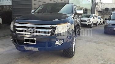 Foto venta Auto usado Ford Ranger XLT 3.2L 4x4 TDi CD (2013) color Azul Monaco precio $820.000