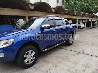 Foto venta Auto usado Ford Ranger XLT 3.2L 4x4 TDi CD (2015) color Azul precio $740.000