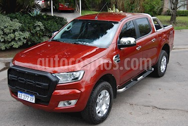 Ford Ranger XLT 3.2L 4x4 TDi CD usado (2018) color Rojo Vino precio $1.200.000