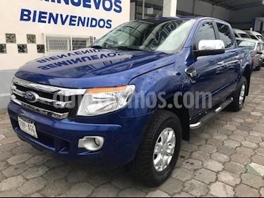 Foto venta Auto usado Ford Ranger XLT Cabina Doble Ac (2016) color Azul Electrico precio $303,800