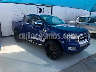 Foto venta Auto usado Ford Ranger XLT Diesel 4x4 Cabina Doble (2017) color Azul precio $435,000