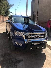 Foto venta Auto usado Ford Ranger XLT Diesel 4x4 Cabina Doble (2017) color Azul Espacio precio $450,000