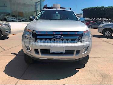 Foto venta Auto usado Ford Ranger XLT Gasolina 4x2 Cabina Doble (2015) color Plata Metalico precio $279,000