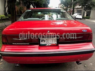 Ford Thunderbird LX usado (1989) color Rojo precio $135,000