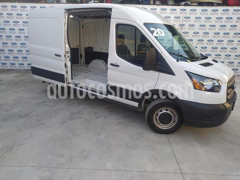 Ford Transit Custom VAN CORTA DIESEL A/A 2.2L usado (2020) color Blanco precio $667,300