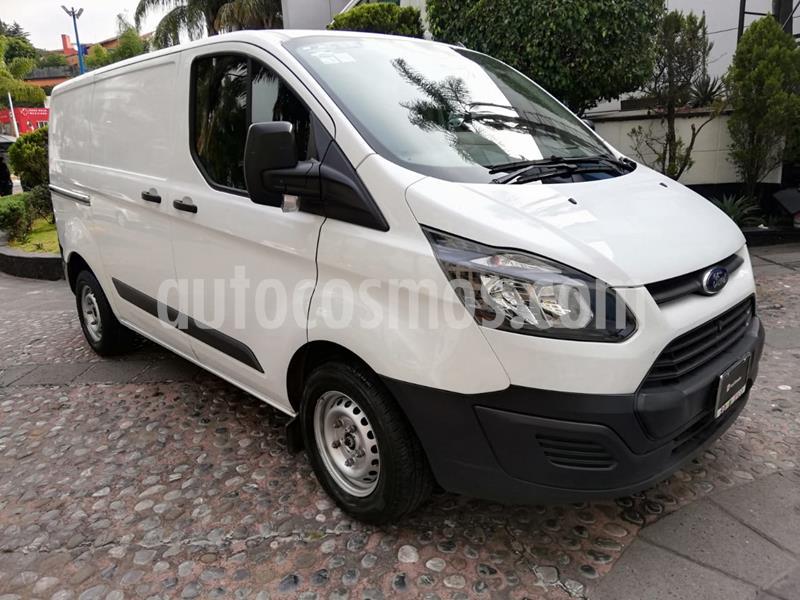 Ford Transit Custom VAN Corta Techo Bajo usado (2015) color Blanco precio $220,000