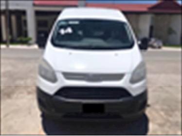 Foto venta Auto usado Ford Transit 4P LARGA L4 2.2 TDI MAN 9/PAS A/AC VAN (2014) color Blanco precio $330,000