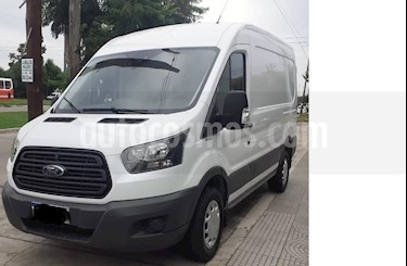 Ford Transit Furgon Mediano 2.2L TDi usado (2019) color Blanco Oxford precio $1.890.000