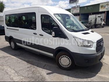 Foto venta Auto Seminuevo Ford Transit Diesel Bus 15 Pasajeros (2015) color Blanco precio $375,000