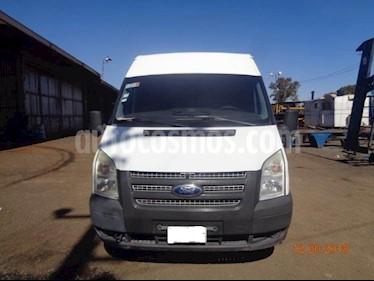 Ford Transit Diesel Chasis Cabina Larga usado (2013) color Blanco precio $195,000