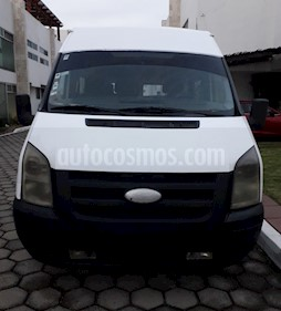 Foto Ford Transit Diesel Pasajeros usado (2008) color Blanco precio $95,000