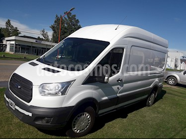 Ford Transit Furgon Largo 2.2L TDi  Ac usado (2015) color Blanco Oxford precio $775.000
