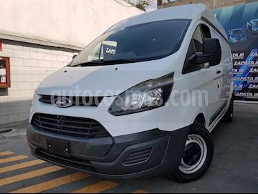 Foto venta Auto usado Ford Transit Gasolina Van Mediana (2015) color Blanco precio $340,000