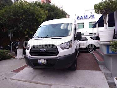 Ford Transit Gasolina Van usado (2018) color Blanco precio $707,000